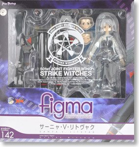 Sanya V Litvyak Strike Witches Max Factory action figure Figma No.142