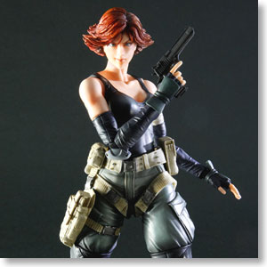 Metal Gear Solid Play Arts Kai Meryl Silverburgh Pvc Figure