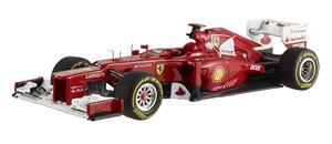 フェラーリ F2012 F.アロンソ (ドライバー無し) (ミニカー)