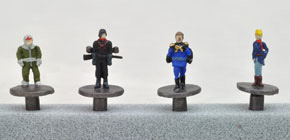 Gundam Push Pin Zeon`s Military (Model Train)