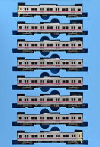 Keio Series 9000 (8-Car Set) (Model Train)