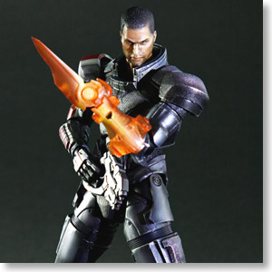 MASS EFFECT 3 Play Arts Kai Commander Shepard (PVC Figure)