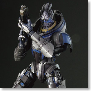MASS EFFECT 3 Play Arts Kai Garrus Vakarian (PVC Figure)