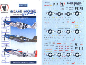 1 72 P 51 B D Mustang Blue Nose Birds Of Budny In
