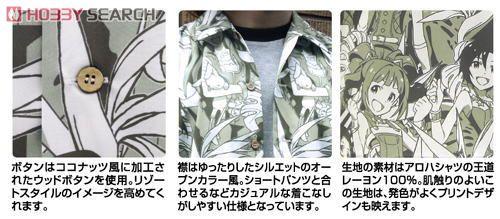 THE IDOLM@STER アイドルマスターアロハB OLIVE XL (キャラクターグッズ)