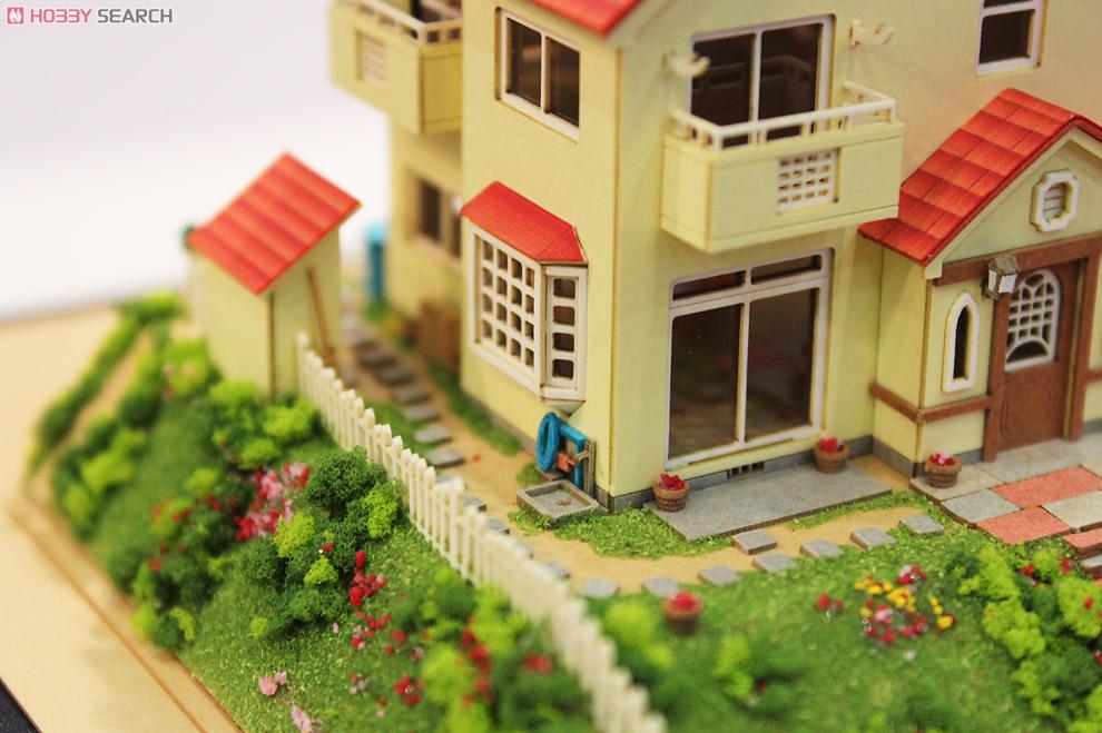 [みにちゅあーと] 特別企画 「崖の上のポニョ」 宗介とポニョの家 (組み立てキット) (鉄道模型)
