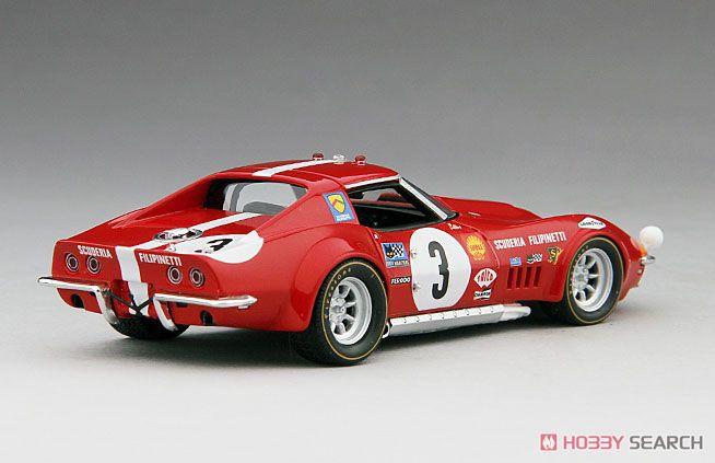 シボレー コルベット L88 1968年 ル・マン24時間 #3 スクーデリア フィリピネッティ (ミニカー)