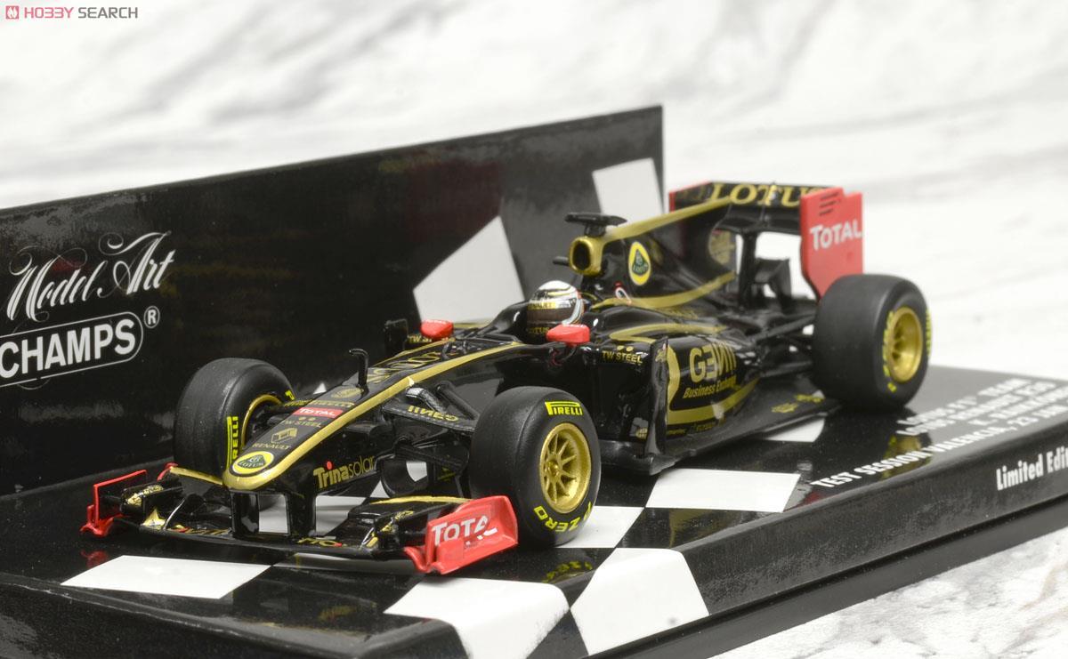 ロータス ルノー R30 バレンシア テストセッション 2012年1月23日 限定 (ミニカー)
