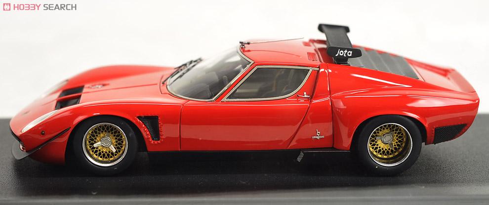 Lamborghini Miura Jota Svr レッド ミニカー 商品画像2