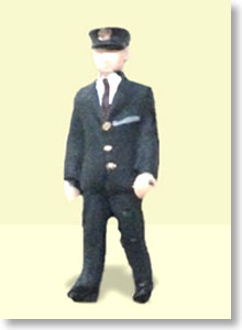 Ho Dolls EK-001 Station Staff 1 (1figure) (Model Train)