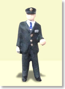 Ho Dolls EK-003 Station Staff 3 (1figure) (Model Train)