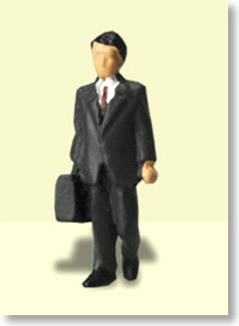 Ho Dolls OF-004 Office 4 (1figure) (Model Train)