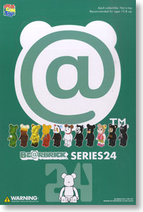 BE@RBRICK Series 24 (24 pieces) (Completed)