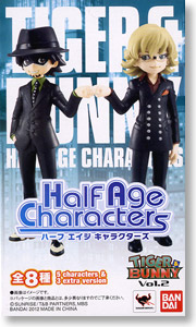 Half Age Characters TIGER&BUNNY VOl.2 8個セット (フィギュア)