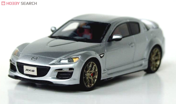 Mazda Rx 8 Spirit R 2012 アルミニウムメタリック ミニカー 商品画像1