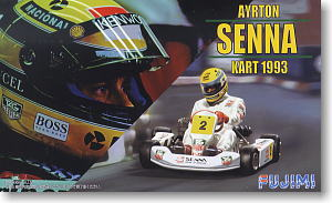 Ayrton Senna Kart 1993 (Model Car)