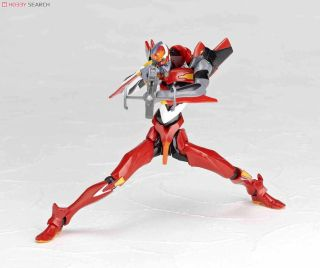 Revoltech Eva Unit 02 Evangelion 2 0 You Can Not Advance Tv Edition Trailer Ver Series No 124 Completed Hobbysearch Anime Robot Sfx Store