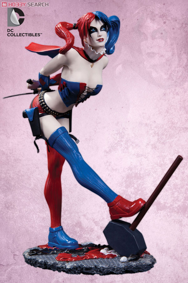 Cover Girls Of The DC UNIVERSE   Harley Quinn New 52 Ver  Completed