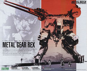 Metal Gear REX (Plastic model)