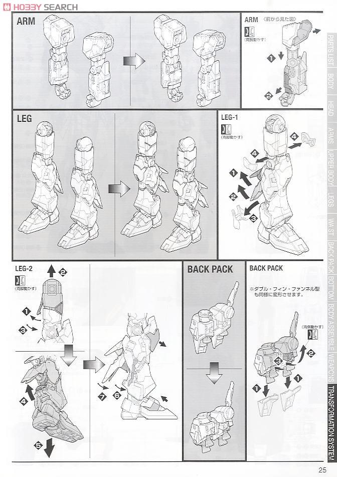 RX-93 Nu Gundam Ver.Ka (MG) (Gundam Model Kits) Assembly guide18