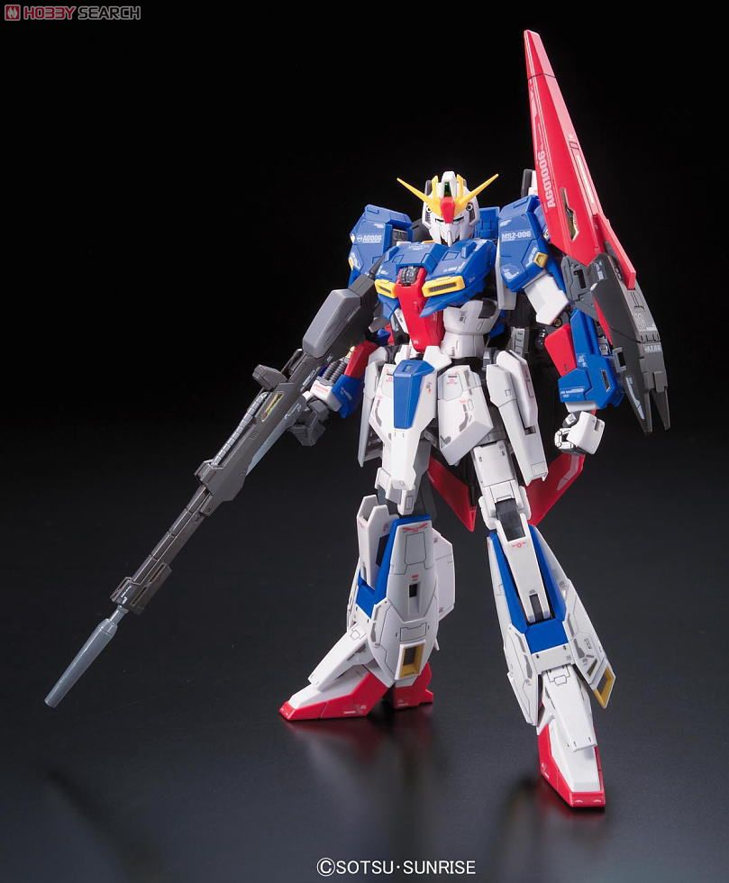 MSZ-006 Z Gundam (RG) (Gundam Model Kits) Item picture4