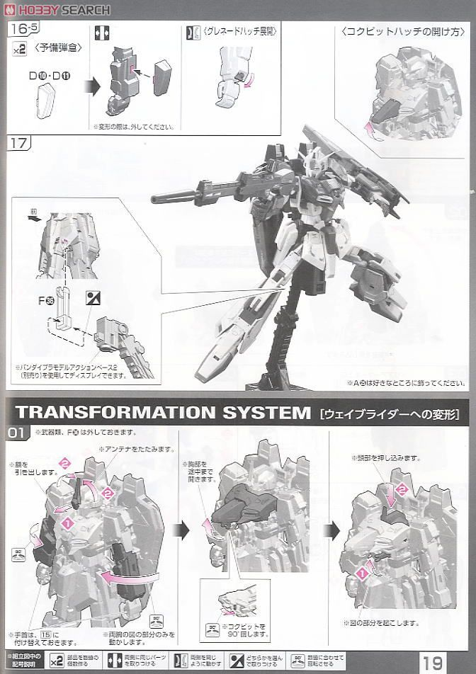 MSZ-006 Z Gundam (RG) (Gundam Model Kits) Assembly guide16