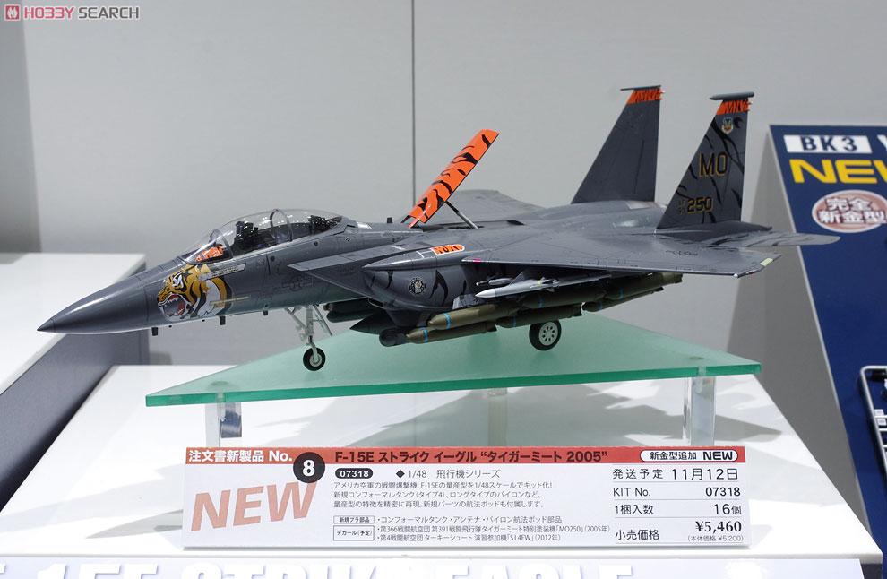 F-15E ストライクイーグル `タイガーミート 2005`