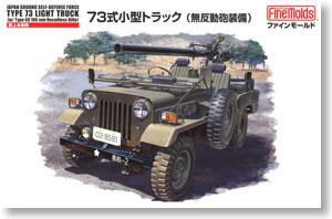 陸上自衛隊 73式小型トラック (無反動砲装備) (プラモデル)
