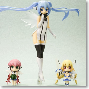 Nymph with Ikaros & Astraea (PVC Figure)