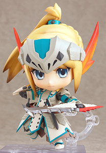 Nendoroid Hunter: Female Swordsman - Bario X Edition (PVC Figure)