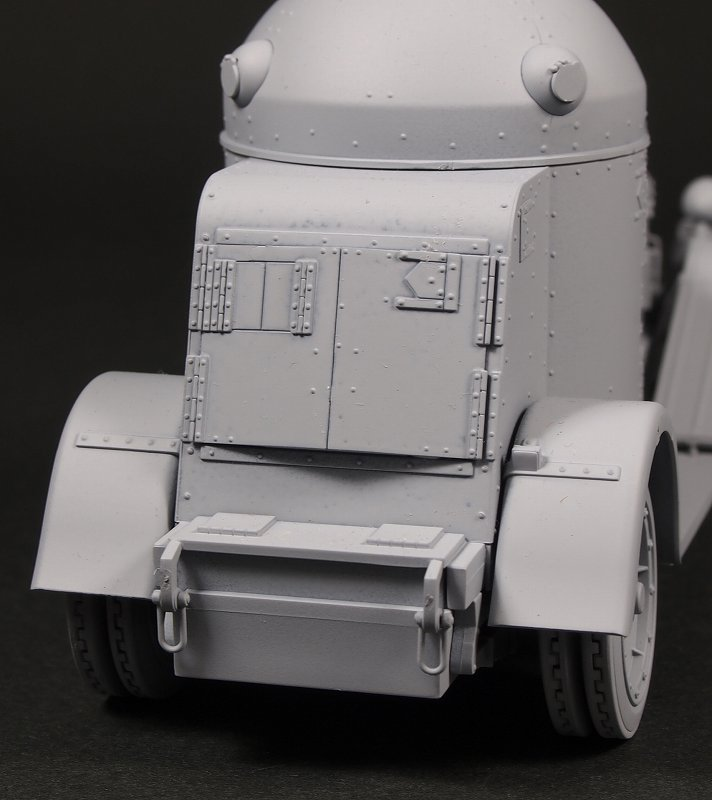 [close] IJN Landing Force Vickers Crosley M25 Four-wheeled Armored Car (Plastic model) Item picture8