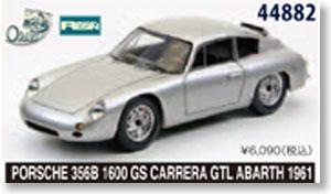 PORSCHE 356B 1600 GS CARRERA GTL ABARTH 1961 【レジン】 (シルバー) (ミニカー)