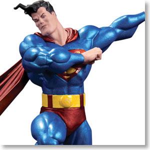 オール・ニュー・メタリック・スーパーマン スタチュー スーパーマン (フランク・ミラー版) (完成品)