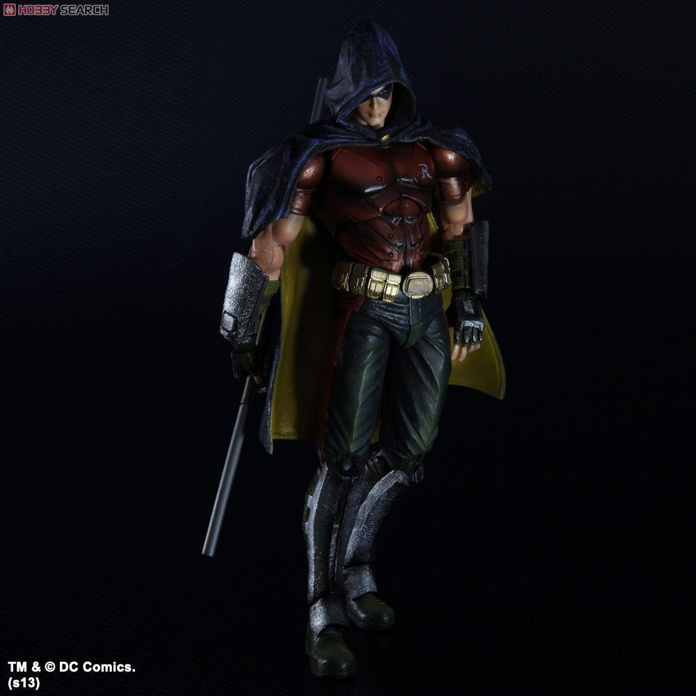 Batman Arkham City Play Arts Kai Robin (PVC Figure) Item picture4