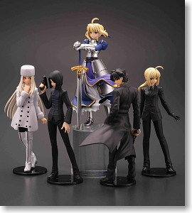 CapsuleQ Fraulein Fate/Zero 24 pieces (PVC Figure)