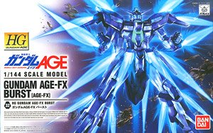 Gundam AGE-FX Burst (HG) (Gundam Model Kits)