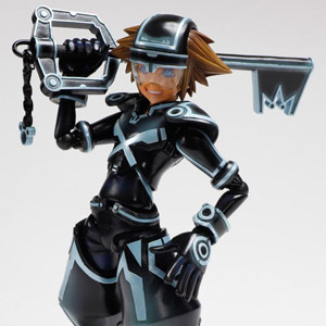 Kingdom Hearts 3D Dream Drop Distance Play Arts Kai Sora TRON:LEGACY ver. (PVC Figure)
