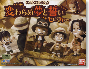 One Piece Collection Dream and vow does not change Sepia Color (Shokugan)