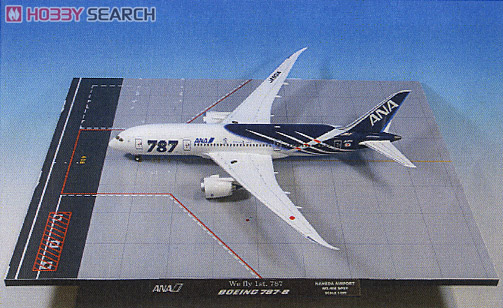 1/200 787-8 JA801A 787特別塗装機 地上姿勢 (完成品飛行機)