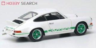 1973 Porsche 911 Carrera RS 2.7 white green stripes weiss 1:43 Welly Museum