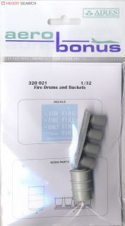 Fire drums and buckets (Plastic model) - HobbySearch
