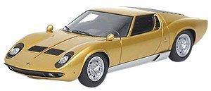 ランボルギーニ ミウラP400 1967 ゴールド (ミニカー)