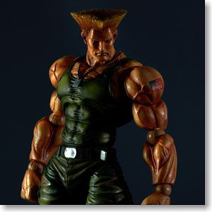 Super Street Fighter IV Play Arts Kai Arcade Edition Vol.3 Guile (PVC Figure)
