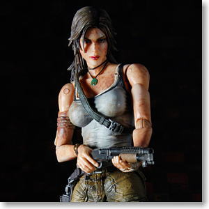 Tomb Raider Play Arts Kai Lara Croft (PVC Figure)