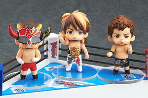 Nendoroid Petite: New Japan Pro-Wrestling Ring Set (PVC Figure)