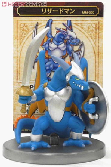 Dragon Quest Monster Museum 020 Lizardman (PVC Figure) Item picture1
