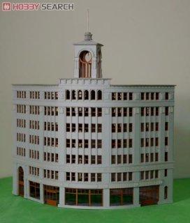 都市の町並み vo.1] 都会の商業ビル (組み立てキット) (鉄道模型