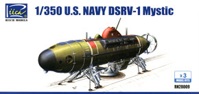 US Navy DSRV-1 Mystic (Plastic model)