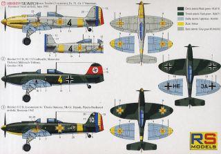 Heinkel 112B Luftwaffe (Plastic model) - HobbySearch Military Model Store