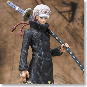 Figuarts Zero Trafalgar Law -Seven Warlords of the Sea Ver.- (PVC Figure)